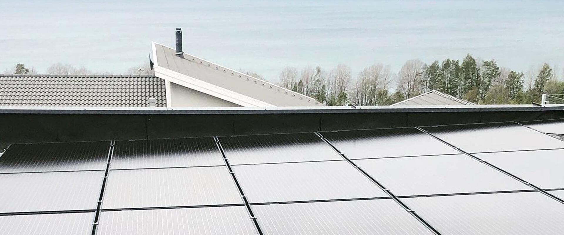 Solpaneler installerat av Wettersol i Jönköping