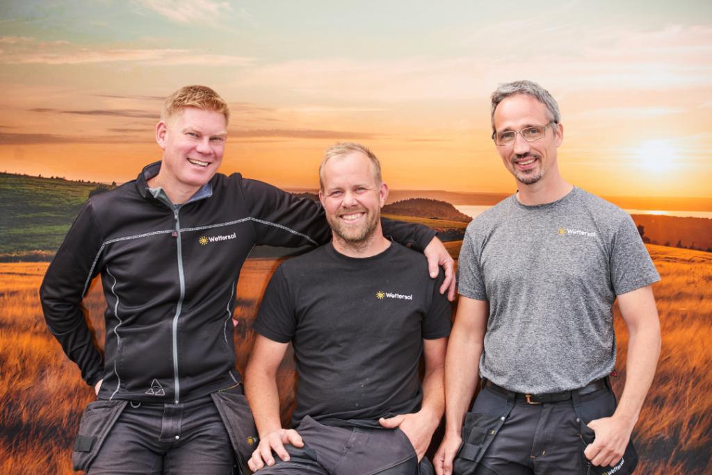 Erfaren personal inom solpaneler på Wettersol i Jönköping