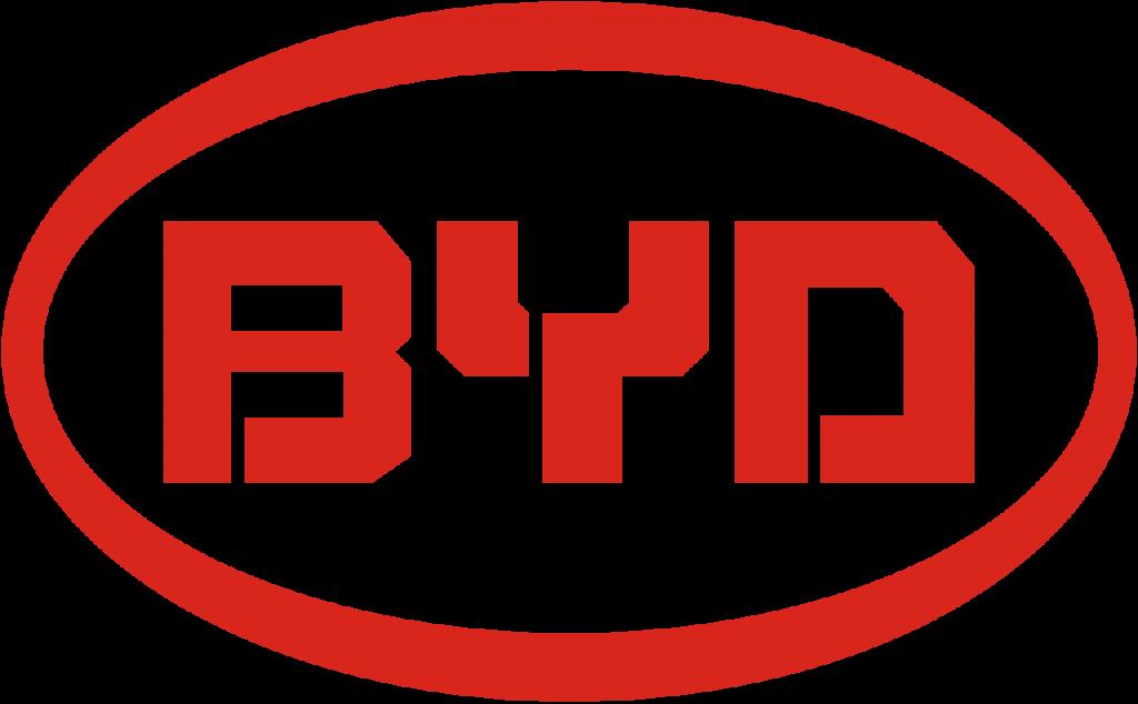 BYD logotyp