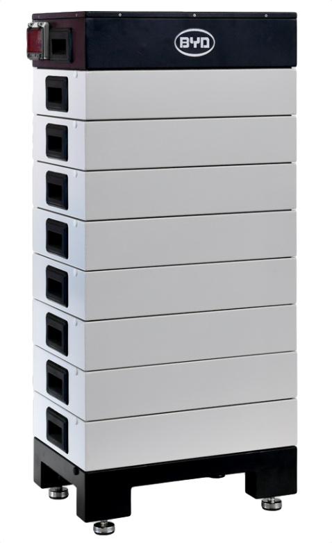 BYD HV är andra generationesn batteri med modulär konstruktion.