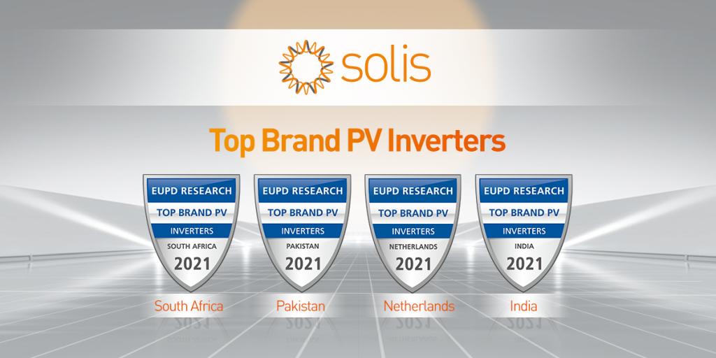 Solis får genomgående utmärkelser för sina produkter.