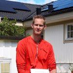 Solceller på Villatak Wettersol