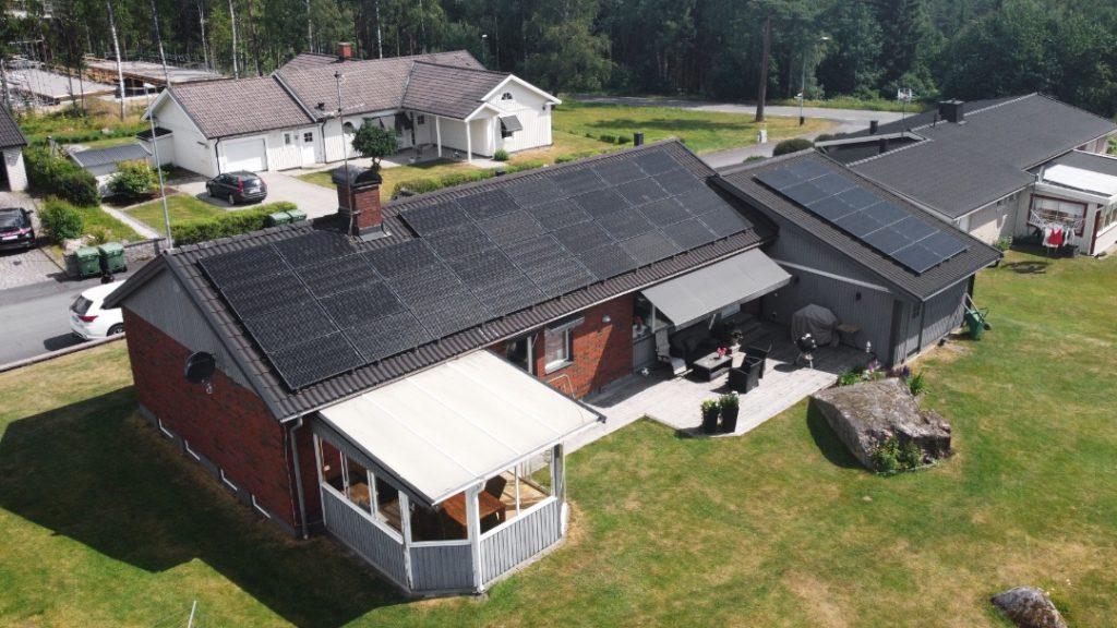 Solceller i Tenhult, Jönköping